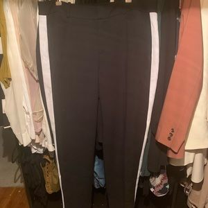 ELOQUII pants with side white stripe sz 14